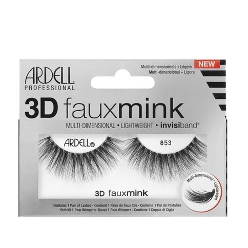 Ardell 3D Faux Mink Lashes Frans 853 Striplash