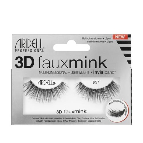 Ardell 3D Faux Mink Lashes Frans 857 Striplash