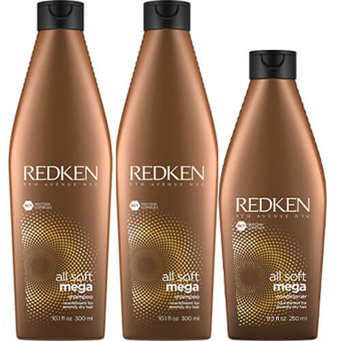 Redken All Soft Mega Trio Full Size Basic Kit