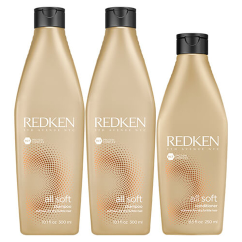 Redken All Soft Trio Full Size Basic Kit