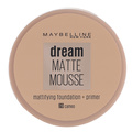 Maybelline Dream Matte Mousse Foundation Cameo 20 18 ml