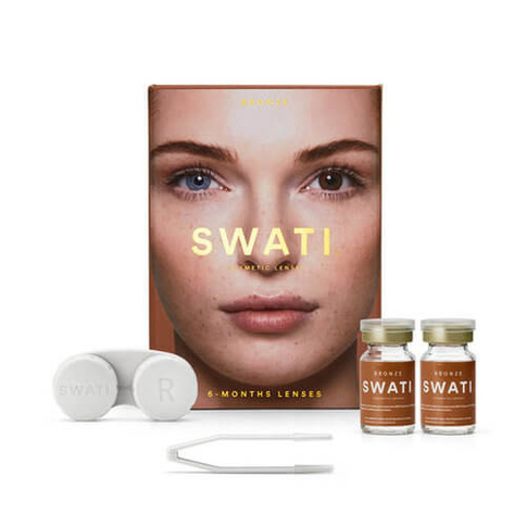 Swati Cosmetic Lenses Bronze