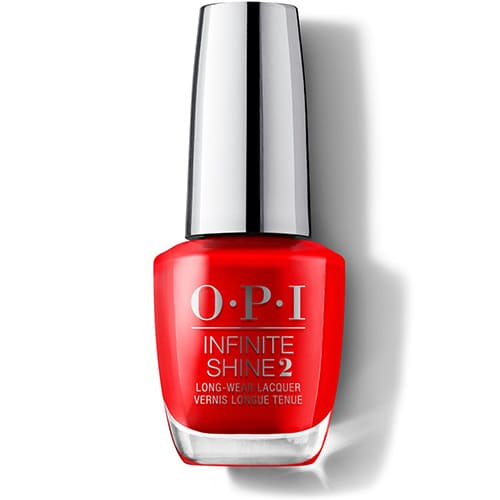 OPI Infinite Shine Long Wear Lacquer 15 ml Unrepentantly Red 15 ml