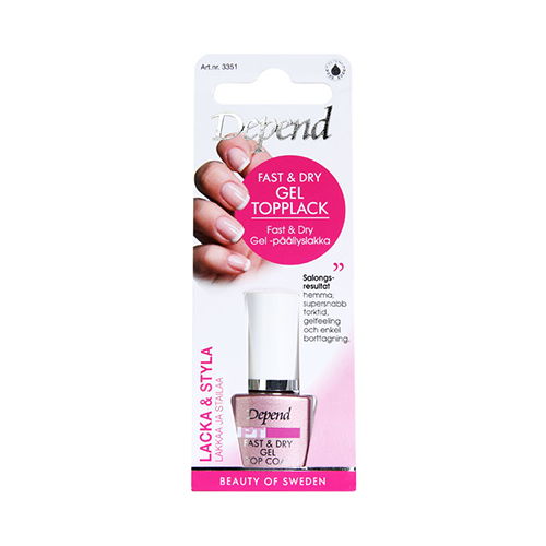 Depend Fast And Dry Gel Topplack 8 ml