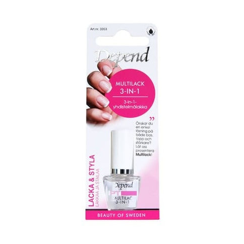 Depend Multilack 3 In 1 8 ml