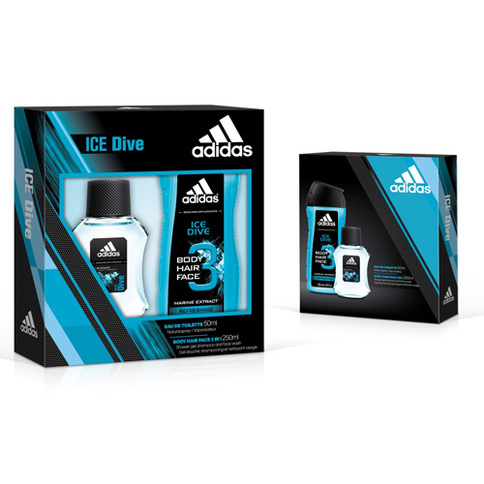 Adidas Ice Dive EdT 50 ml Giftset
