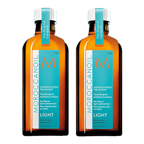 Moroccanoil Treatment Light 100 ml Duo Kit