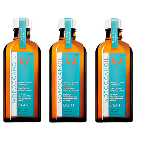 Moroccanoil Treatment Light 100 ml Trio Kit