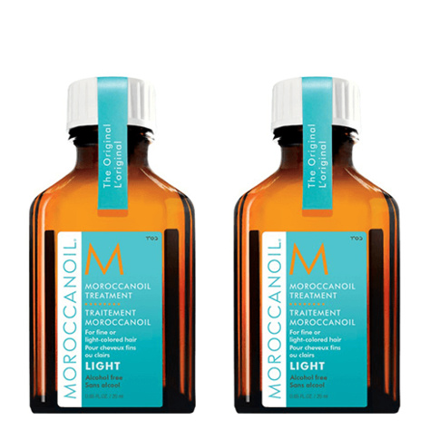 Moroccanoil Treatment Light 25 ml Duo Kit
