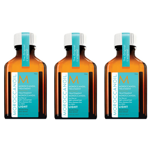 Moroccanoil Treatment Light 25 ml Trio Kit