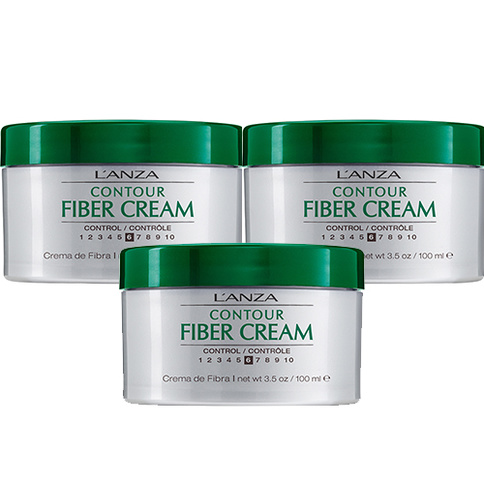 Lanza Healing Style Fiber Cream 100 ml Trio Kit