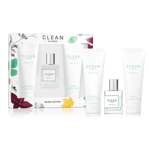 Clean Warm Cotton EdP 30 ml Deluxe Set