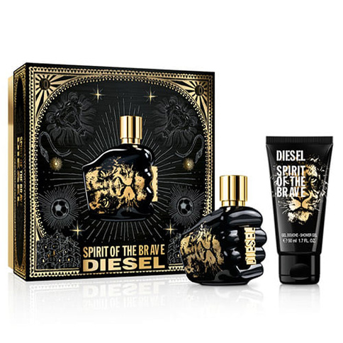 Diesel Only The Brave Spirit of the brave EdT 35 ml Giftset