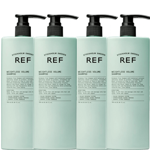 REF Weightless Volume Shampoo Duo 1500 ml