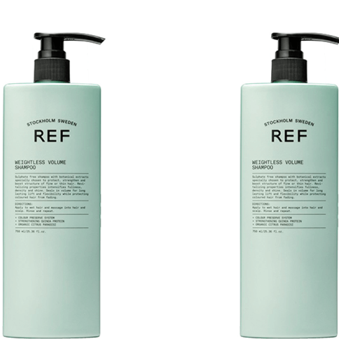 REF Weightless Volume Shampoo Duo 750 ml