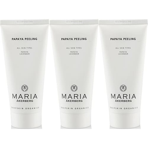 Maria Åkerberg Papaya Peeling Trio 30 ml