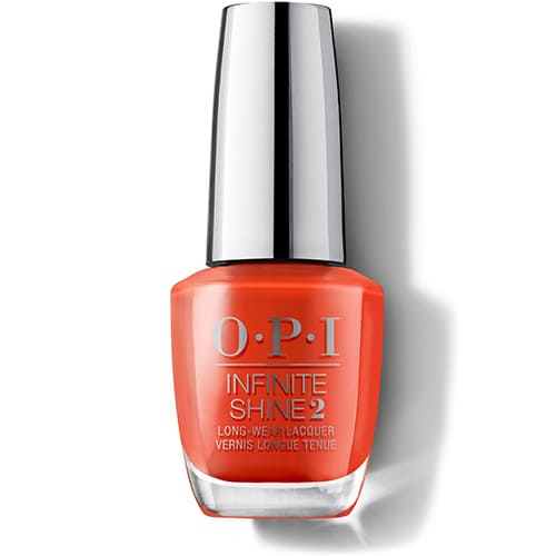 OPI Infinite Shine Long Wear Lacquer 15 ml A Red-vival City