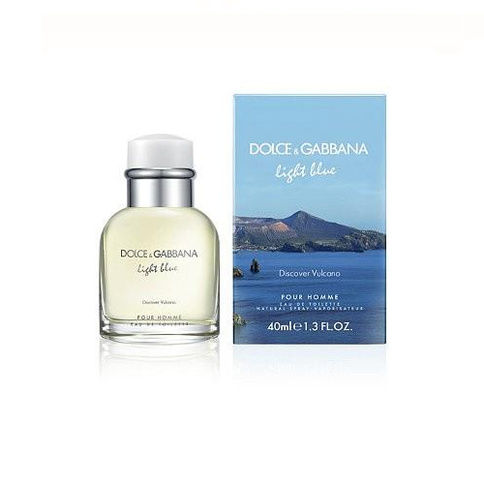 Dolce & Gabbana Light Blue Discover Vulcano Pour Homme EdT 40 ml