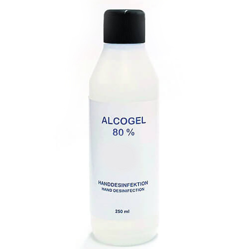 Handsprit Alcogel Handdesinfektion 80 % 250 ml