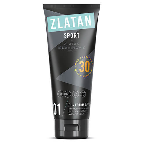 Zlatan Ibrahimovic Parfums Zlatan Sport Sun Lotion Spf30 Face And Body 100 ml