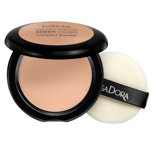Isadora Velvet Touch Sheer Cover Compact Powder Warm Beige 46 10g