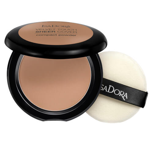 Isadora Velvet Touch Sheer Cover Compact Powder Neutral Almond 48 10g