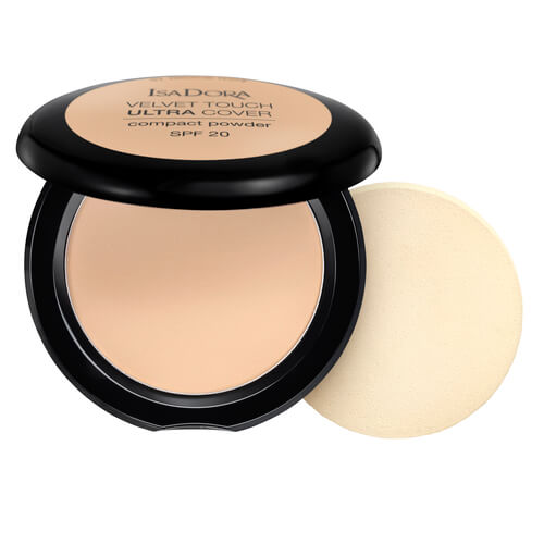 Isadora Velvet Touch Ultra Cover Compact Powder Neutral Ivory 61 Spf20 75g