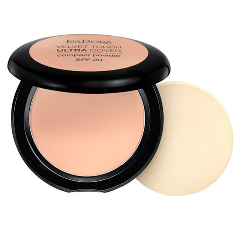 Isadora Velvet Touch Ultra Cover Compact Powder Cool Sand 63 Spf20 75g