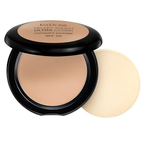 Isadora Velvet Touch Ultra Cover Compact Powder Neutral Beige 65 Spf20 75g