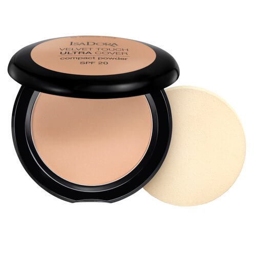 Isadora Velvet Touch Ultra Cover Compact Powder Warm Beige 66 Spf20 75g