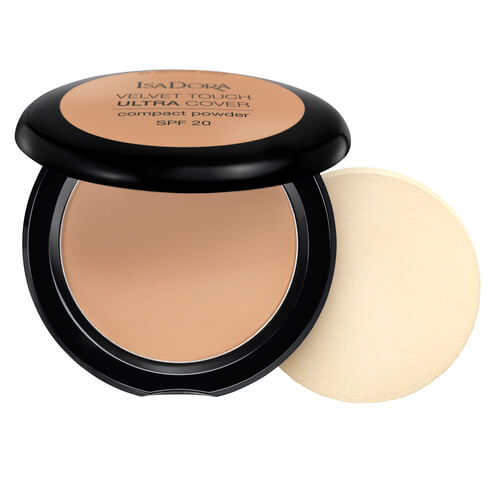 Isadora Velvet Touch Ultra Cover Compact Powder Warm Tan 67 Spf20 75g
