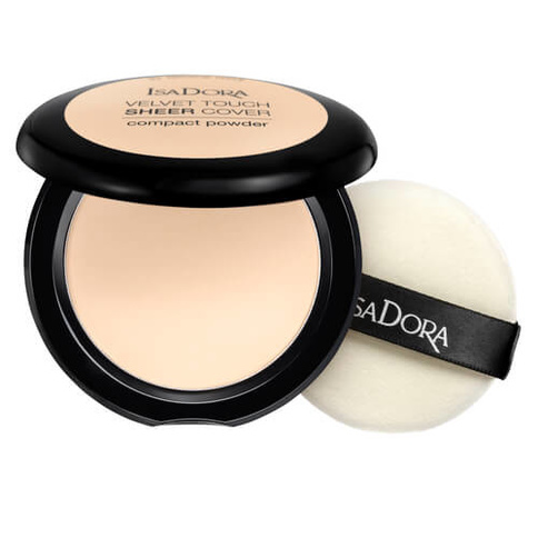 Isadora Velvet Touch Sheer Cover Compact Powder 10g