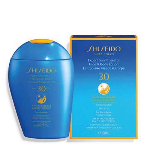 Shiseido Expert Sun Protector Face And Body Lotion Spf30 150 ml