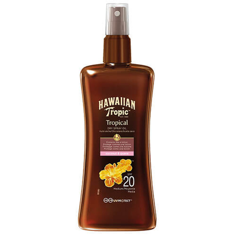 Hawaiian Tropic Tropical Dry Spray Oil 200 ml