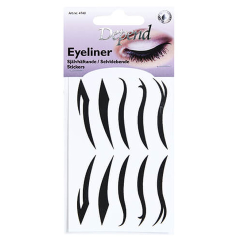 Depend Eyeliner Stickers A