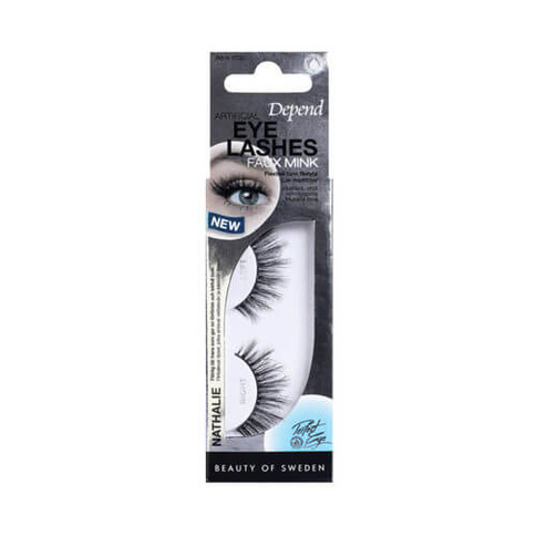 Depend Perfect Eye Artificial Eyelashes Faux Mink Nathalie