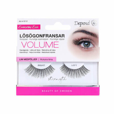 Depend Everyday Eye Lösögonfransar Volume Strength