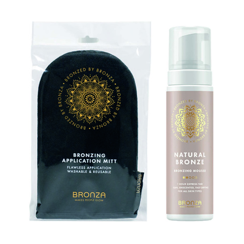 Bronza Kit Natural Bronze And Application Mitt
